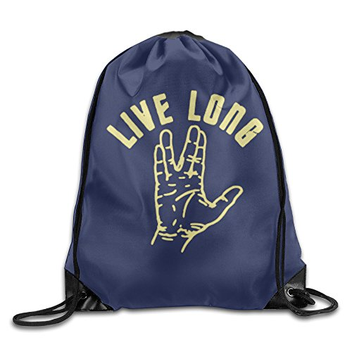 [YYHU Star Trek Live Long And Prosper Training Gymsack - Great For Travel And Everyday Life] (Persona 4 Dancing All Night Costumes)