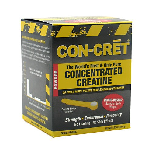 Con-Cret Concentrated Creatine 48 Servings, 1.35-Ounce Tub