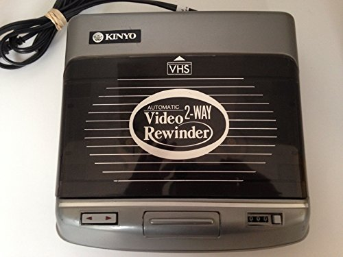 Why Should You Buy Kinyo Video Rewinder Automatic 2-Way VHS with Fast Forward