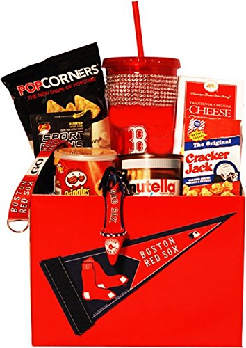 Boston Red Sox Gift Basket for Her