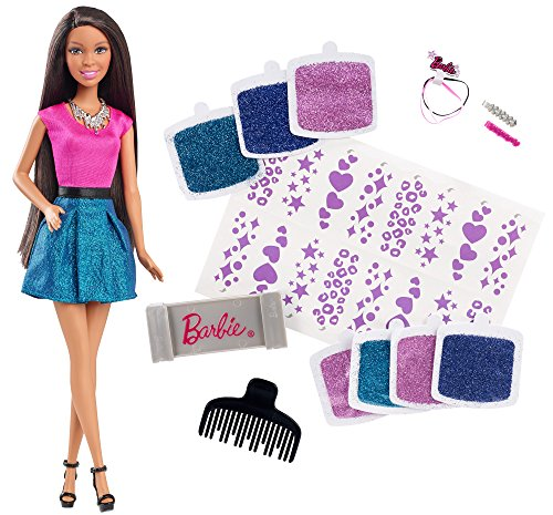 Barbie Glitter Hair Design African-American Doll