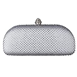 Carlo Fellini - Arya Evening Bag (41 3024) (Silver)
