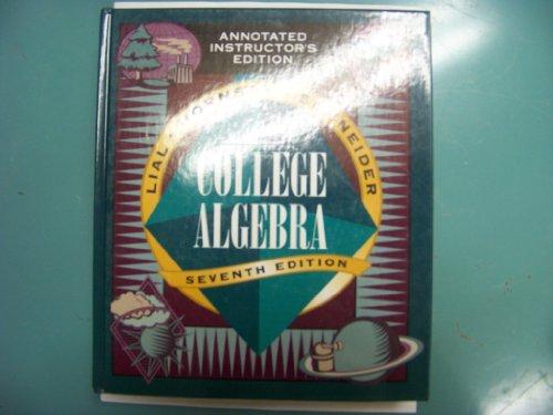 College Algebra (Seventh Edition)