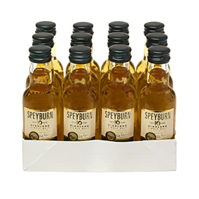 Speyburn 10 year old Single Malt Scotch Whisky 5cl Miniature - 12 Pack by Speyburn