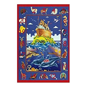 Sunsout Numbers of Africa Floor 48 Piece Jigsaw Puzzle