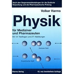 Übungsbuch Physik für Mediziner und Pharmazeuten.