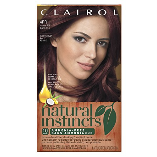 Clairol Natural Instincts 20r Malaysian Cherry Dark Red