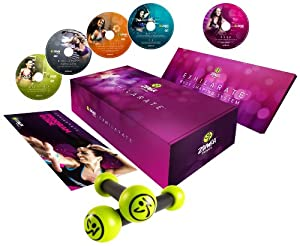 Buy Zumba Fitness Exhilarate Body Shaping System DVD (Multi, Small) by Zumba Fitness