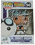 Christopher Lloyd Signed Back To The Future Doc Brown Funko Pop Vinyl Doll