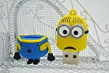 TopOne Cartoon Minions Toy USB 2 0 Memory Stick Flash Pen Drive 4GB 8GB 16GB 32GB HQ142 M1 8GB