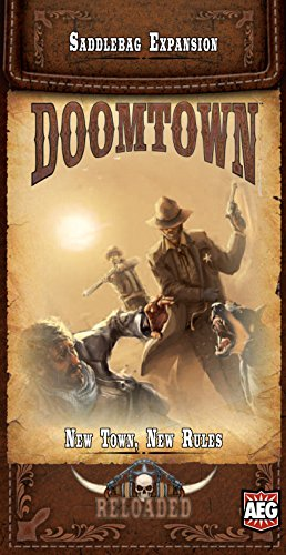 Doomtown: Reloaded - New Town, New Rules - Saddlebag Expansion - 1