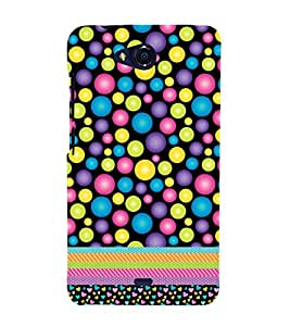Bubbles Love Girly Design 3D Hard Polycarbonate Designer Back Case Cover for Micromax Bolt Q335
