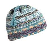 Turtle Fur - Women's Lady Fairisle, Classic Wool Ski Tassel Hat