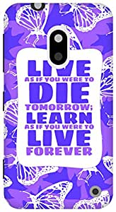 The Racoon Lean Gandhi hard plastic printed back case/cover for Nokia Lumia 620
