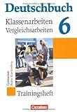 img - for Deutschbuch Baden-wurttemberg: Klassenarbeitstrainer 6 (German Edition) book / textbook / text book
