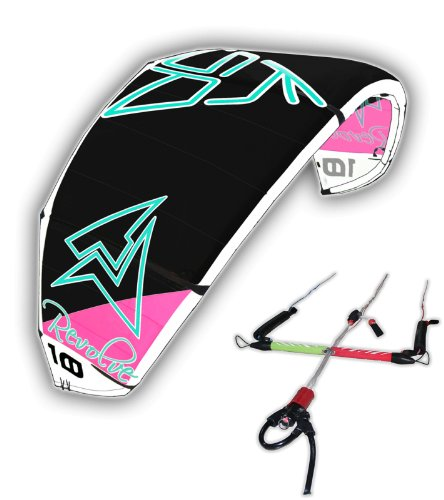 COMPLETE KSP 2014 KITE REVOLVE 8m + BAR FOR KITESURFING KITEBOARD SURF