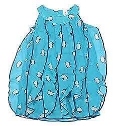 Style Loft Girls' Frock (FROCKS 21_2-3 Years, Blue, 2-3 Years)