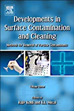 Developments in Surface Contamination and Cleaning - Vol 3 Methods for Removal of Particle Contamina