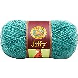 Lion Brand Yarn 450-181 Jiffy Yarn, Country Green