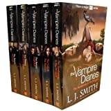 L J Smith The Vampire Diaries Story Collection L J Smith 7 Titles in 5 Books Set TV Tie Edition (ITV 2 TV Series) (The Awakening, The Struggle, The Fury, The Reunion, Nightfall, Shadow Souls, Midnight)