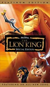 The Lion King - Special Edition [VHS]