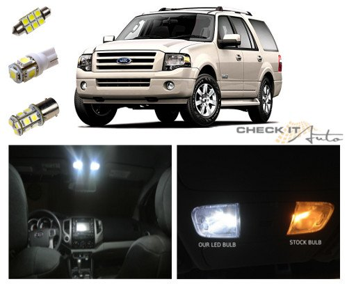 07-14 Ford Expedition Led Package Interior + Tag + Reverse Lights (16 Pieces)