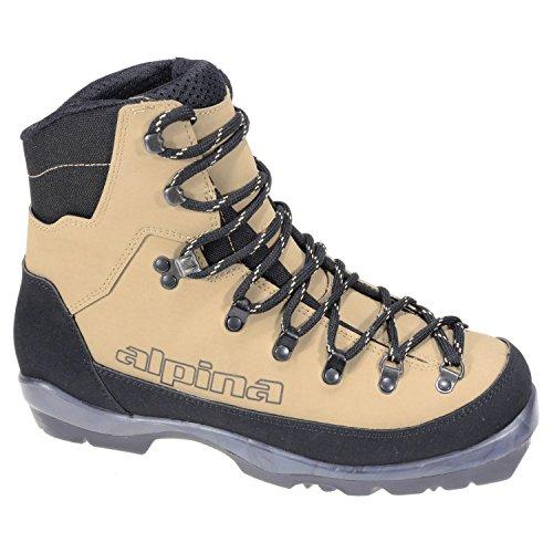 Alpina Montana NNN BC Ski Boot Brown/Black, Unisex, 38