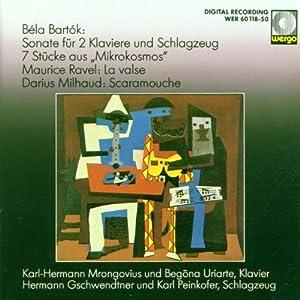 Bartók: Two Piano and Percussion Sonatas