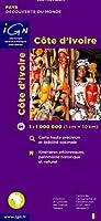 Carte routière : Côte d'Ivoire