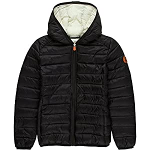 Save The Duck Giga Hooded Jacket - Girls' Black, 10