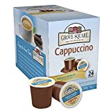 Grove Square Cappuccino, French Vanilla, 24-Count Single Serve Cup for Keurig K-Cup Brewers image