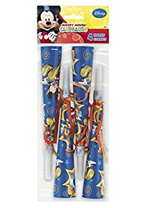 Mickey Mouse Clubhouse Party Horns : package of 4