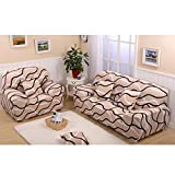 Imported 90-140cm One Seat Sofa Couch Protector Elastic Slipcover Bird Nest Pattern