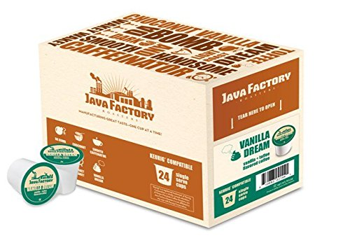 Java Factory Snjf5212-96 Vanilla Dream Coffee - 96 Count