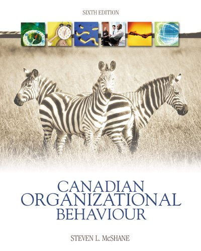 steven l mcshane Text: organizational behavior (4th edition, 2008) by steven l mcshane and  mary von glinow (isbn #: 978-0-07-304977-9) course description: mba 670 is  a.