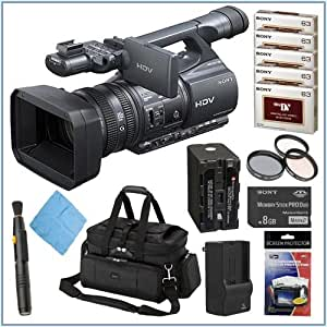 Sony HDR-FX1000 High Definition Minidv Handycam Camcorder + Accessory Kit