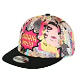 ililily Marilyn Monroe Pop Art Pattern New era Style Baseball Cap Snapback