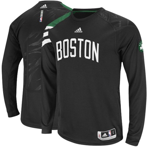For Sale Adidas Boston Celtics On-Court Long Sleeve Shooting Shirt Medium 0dd0dc1ff