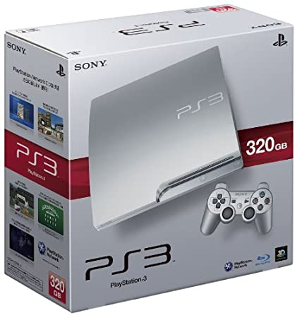 SONY PlayStation 3 HDD 320GB Console - Satin Silver (Japan Model)