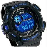 Gosasa Men's 939 Digital Black Military Wrist Watch