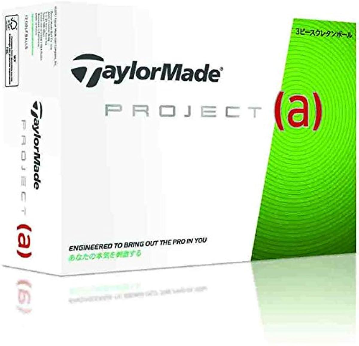 [해외] TAYLOR MADE(테일러메이드) 골프 볼(1다스12개 들이) PROJECT a A3413101 화이트