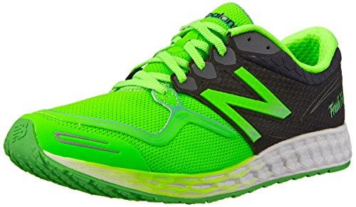 New Balance Men's M1980V1 Fresh Foam Zante Running Shoe, Green/Black, 13 D US (Custom New Balance Shoes compare prices)