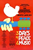 Woodstock (3 Days of Peace & Music, Red) Music Poster Print - 24x36