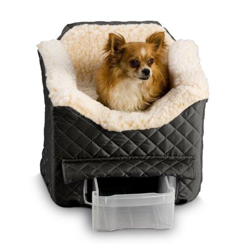 Snoozer Lookout Ii Pet Car Seat, Medium, Black front-1074514