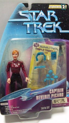 Star Trek The Next Generation: Warp Factor Series 2 Captain Beverly Picard 4 inch Action Figure