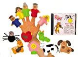 Get Ready Kids Nursery Rhyme Finger Puppet Set