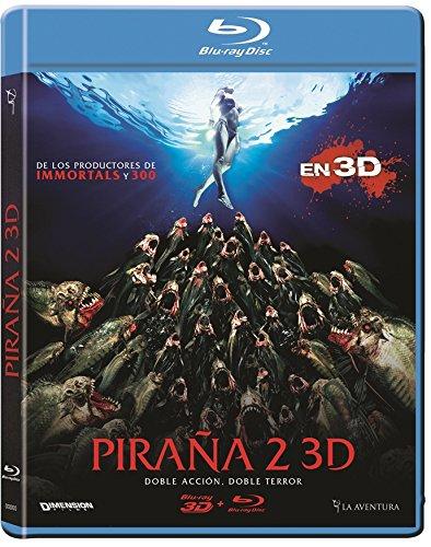 Piraña 2 (BD 3D + BD 2D) [Blu-ray]