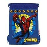 Spiderman Drawstring Backpack in Blue For Children