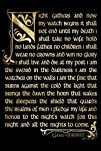 Game of Thrones Nights Watch Poster Print