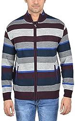 Captor Men's Acrylic Sweater (8084A, Mauve, XX-Large)